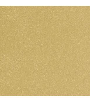 """Gold - Doodlebug Sugar Coated Cardstock 12""""x12"""""""