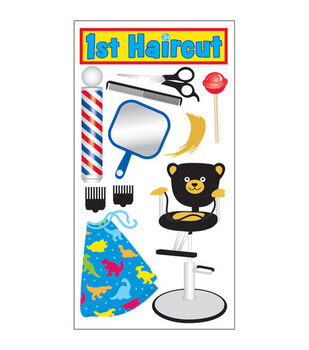 Sandylion Dimensional Stickers-1st Haircut