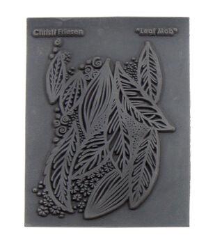 Great Create Christi Friesen Leaf Mob Texture Stamp