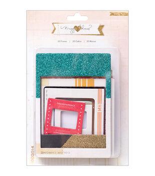 Maggie Holmes Open Book Chipboard Frames 20/Pkg-