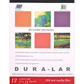 Grafix Duralar 0.004 Wet Clear Media Pad