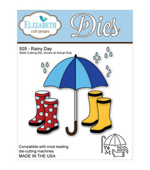 Elizabeth Craft Metal Die-Rainy Day