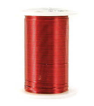 24 Gauge Wire 25 Yards/Pkg-Red