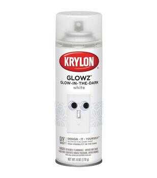 Krylon Glowz Aerosol Spray 6oz-White