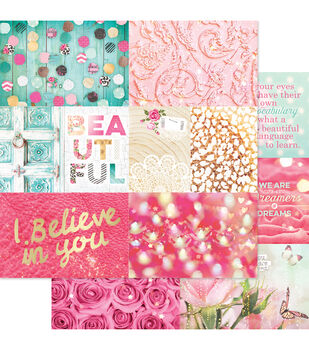 """Beautiful Chic Double-Sided Cardstock 12""""X12""""-Storyteller 2"""