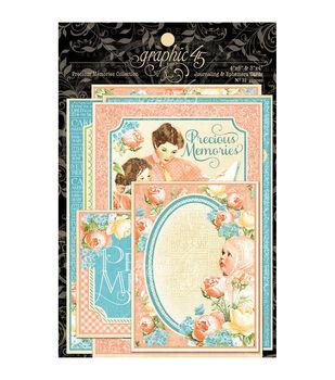 Graphic 45 Precious Memories Ephemera Cards