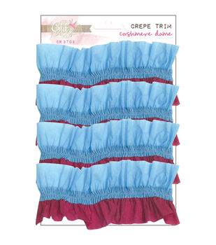 Cashmere Dame Gathered Crepe 5 Feet-