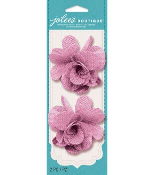 Jolee's Boutique - Rose Burlap Flowers