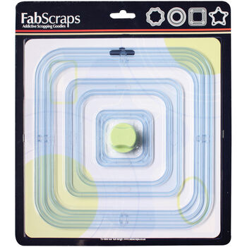Fabscraps Mat & Frame Cutter With 6 Sizes Of Templates Square