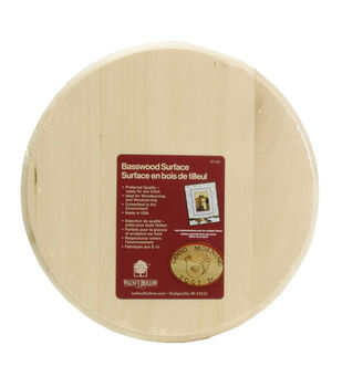 Walnut Hollow 6'' Basswood Plaque