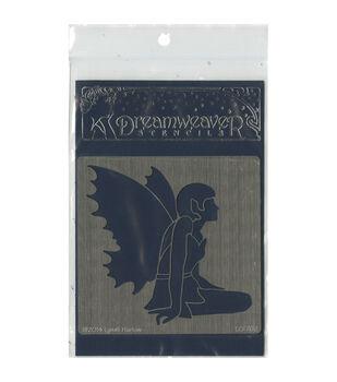 Stampendous Dreamweaver Metal Fairy Stencil