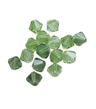 Bicone Mix 6mm Green