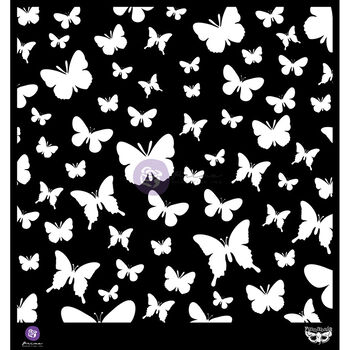 Prima Marketing Elementals Stencil Butterflies
