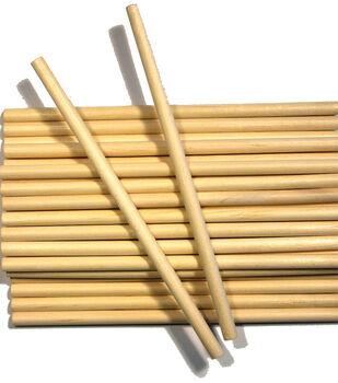 """Wood Craft Dowels-1/4""""X6"""" 30/Pkg"""