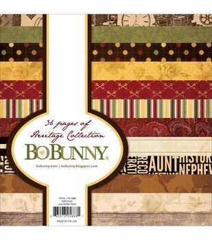 Bo-Bunny Heritage Paper Pad