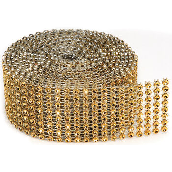 Darice Bling On A Roll Gold 3mm x 2 yards