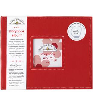 Doodlebug Storybook Album 8''x8''-Ladybug