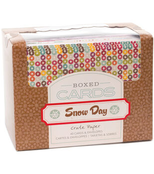 Crate Paper A2 Snow Days Cards & Envelopes