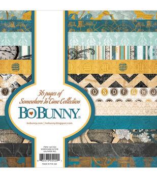 """Bo-Bunny Paper Pad 6""""X6"""" 36/Pkg-Somewhere In Time"""
