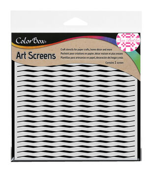 Clearsnap ColorBox Wave Screens