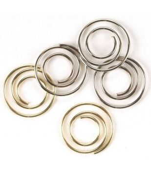 Creative Impressions Metal Mini Spiral Clips-25PK
