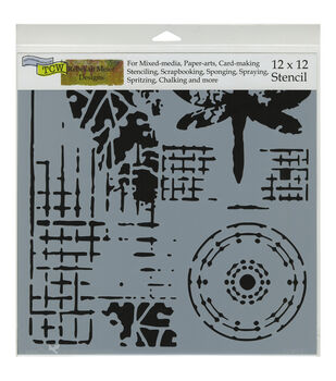 Crafter's Workshop Screen Print Template 12''x12''