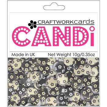 Craftwork Cards Candi Dot Printed Embellishments Isabella