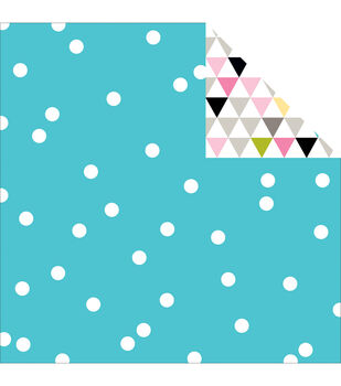 "Scattered Sprinkles Double-Sided Cardstock 12""X12""-Ice Sprinkles"