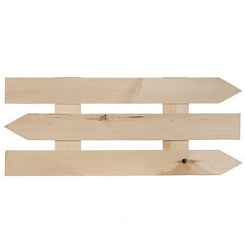 "Rustic Pallets By Walnut Hollow Wide Rustic Arrow Pallet 9.88"" X 24"""
