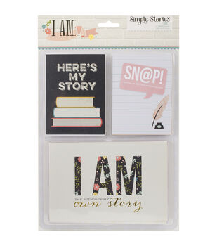 Simple Stories Sn@p! I Am Double-Sided Card Pack