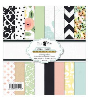 Fancy Pants Office Suite Designs Paper Pad 6''x6''