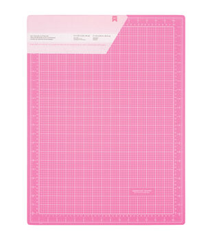 "Pink Double-Sided Self-Healing Cutting Mat 18""X24""-"