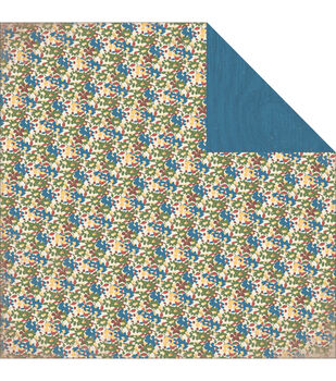 """Adventure Double-Sided Cardstock 12""""X12""""-Wildflower"""