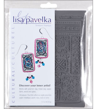 Lisa Pavelka Stamp Sheets-2PK/Cultural