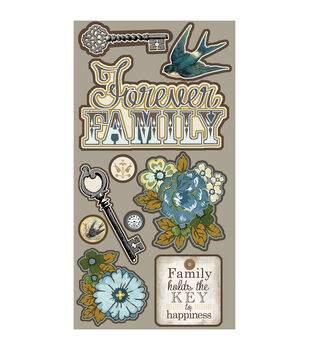 Adorn-It Wisteria Forever Family Laser Die-Cuts