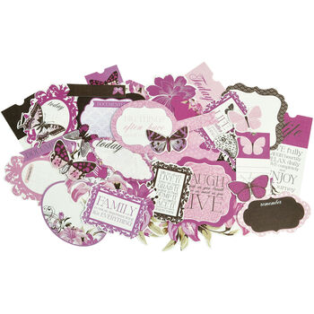 Kaisercraft Violet Crush Collectables Cardstock Paper Die-Cuts