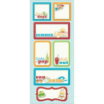 Imaginisce Endless Summer Sticker Stacker Lazy Days