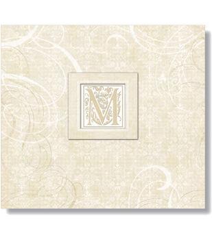 "Lilo Postbound Album 12""X12-Wedding Elegant Scrolls"