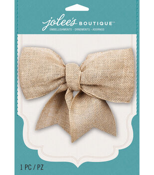 Jolee's Boutique - Burlap Large Bow