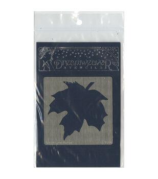 Stampendous Dreamweaver Metal Large Maple Leaf Stencil