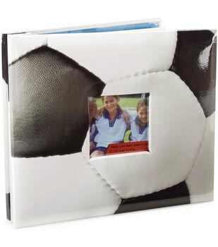 8''x8'' Postbound Album-Soccer