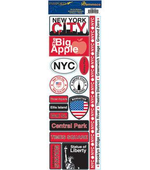 Reminisce Passport Stickers-New York City