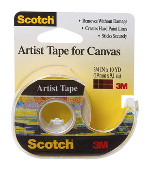 "Scotch Artist Tape For Canvas .75""X10yd-"
