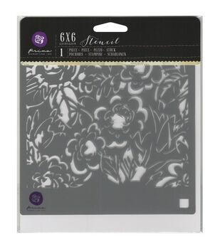 Prima Marketing Magnolias Designer Stencil