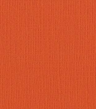 Bazzill Grass Cloth Cardstock Paper Pumpkin Patch