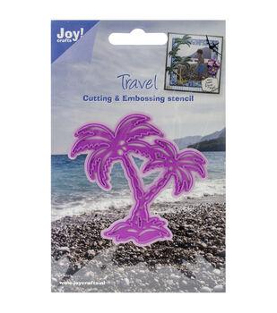 "Joy! Crafts Cut & Emboss Die-Palm Trees 3""X3"""