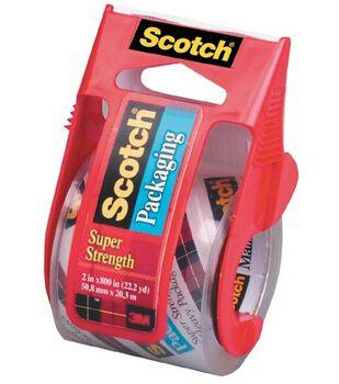 Scotch Clear Mailing Tape 2''x800'' Dispenser