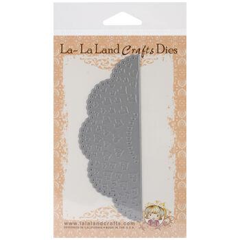 La-La Land Border Die Heart Doily