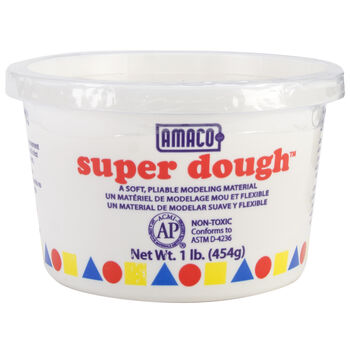 Superdough Modeling Compound 1lb-White