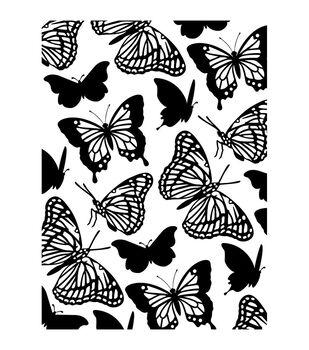 Darice Butterflies Embossing Folder